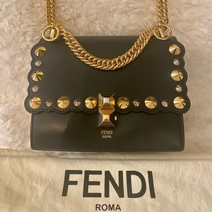 * New Fendi Kan l Mini Bag